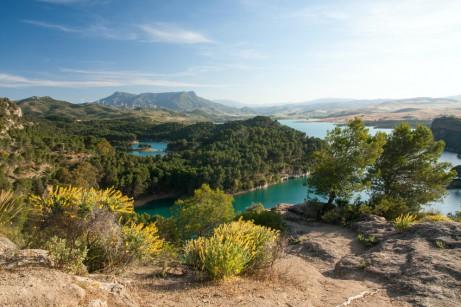 Landschaft bei Malaga in Südspanien © Tom Plesnik/Fotolia